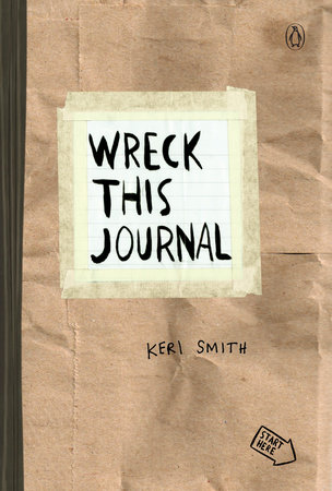 Wreck This Journal (Red) Expanded Ed. by Keri Smith