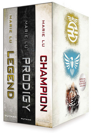 Legend Trilogy Boxed Set by Marie Lu