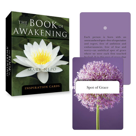 The Book of Awakening Inspiration Cards by Mark Nepo