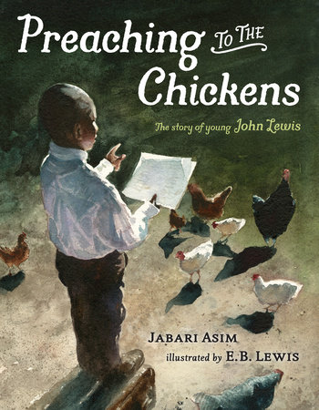Preaching to the Chickens - book cover