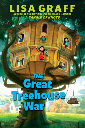 the great treehouse war by lisa graff - Treehouse