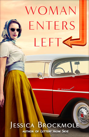 Woman Enters Left Book Cover Picture