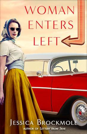 Woman Enters Left by Jessica Brockmole