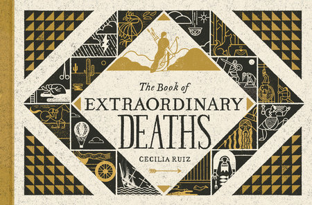 The cover of the book The Book of Extraordinary Deaths