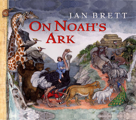 On Noahs Ark By Jan Brett