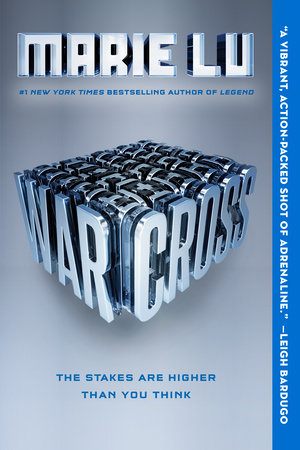 The cover of the book Warcross
