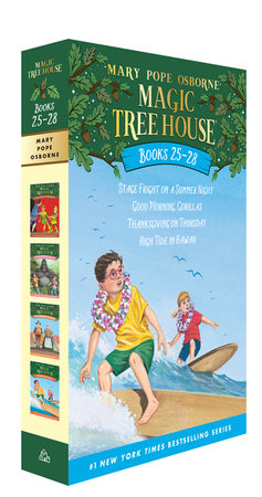 Magic Tree House Volumes 25-28 Boxed Set by Mary Pope Osborne