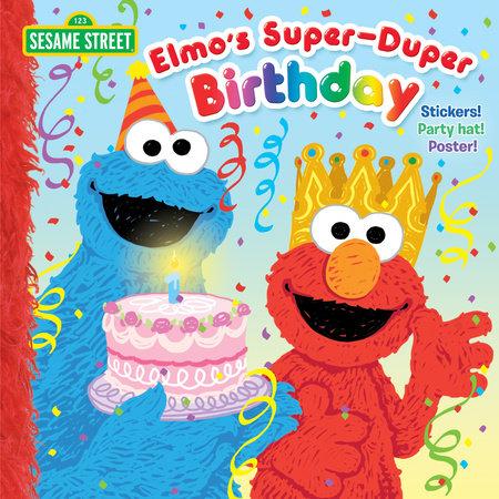 Elmo's Super-Duper Birthday (Sesame Street) by Naomi Kleinberg