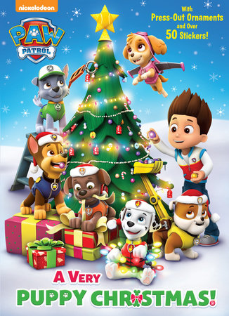 a very puppy christmas paw patrol by golden books
