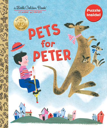 Pets for Peter Book and Puzzle by Jane Werner Watson