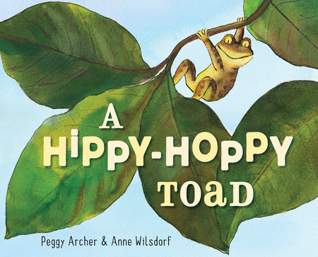 A Hippy-Hoppy Toad