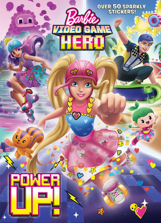 Power Up Barbie Video Game Hero By Golden Books