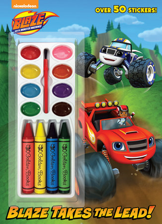 Blaze Takes the Lead! (Blaze and the Monster Machines) by Golden Books