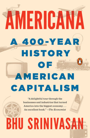 The cover of the book Americana