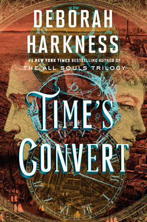 The cover of the book Time's Convert