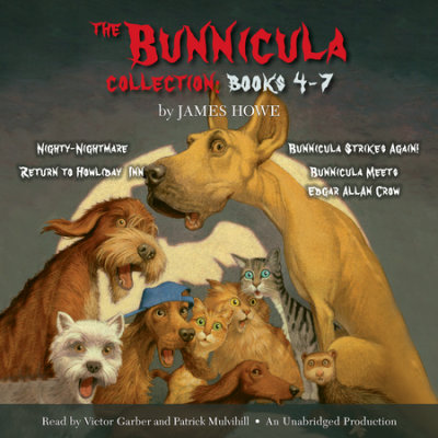 The Bunnicula Collection: Books 4-7 cover