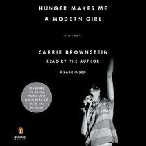 Hunger Makes Me a Modern Girl Cover