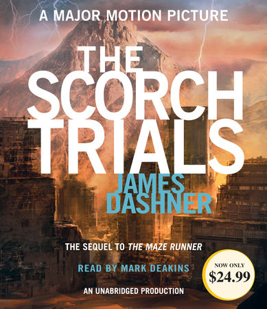 The Scorch Trials (Maze Runner, Book Two) cover