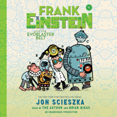 Frank Einstein and the EvoBlaster Belt cover