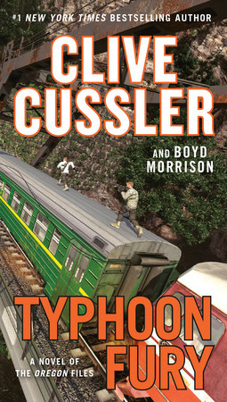 Typhoon Fury by Clive Cussler and Boyd Morrison
