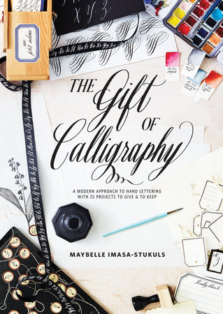 The cover of the book The Gift of Calligraphy