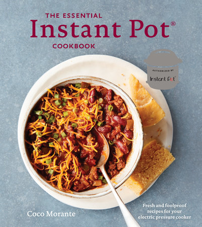 The cover of the book The Essential Instant Pot Cookbook