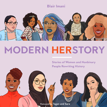 The cover of the book Modern HERstory