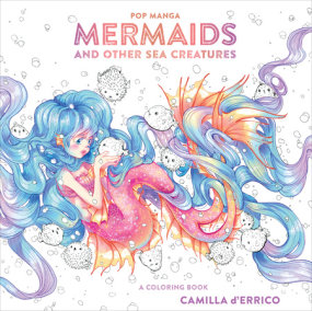 Pop Manga Mermaids and Other Sea Creatures