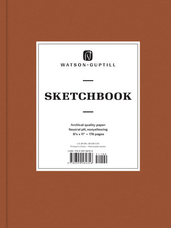 Large Sketchbook (Chestnut Brown)