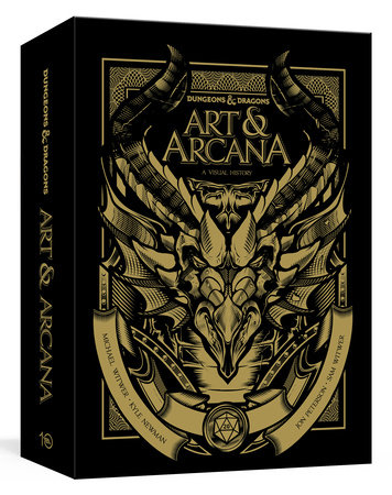 Dungeons and Dragons Art and Arcana [Special Edition, Boxed Book & Ephemera Set] by Michael Witwer, Kyle Newman, Jon Peterson and Sam Witwer