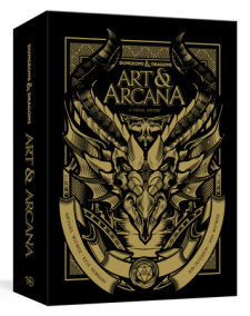 Dungeons and Dragons Art and Arcana [Special Edition, Boxed Book & Ephemera Set]