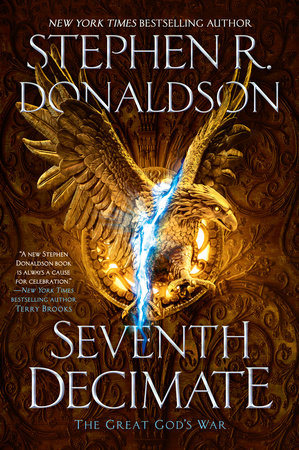 The cover of the book Seventh Decimate