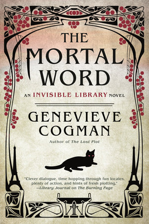 The cover of the book The Mortal Word