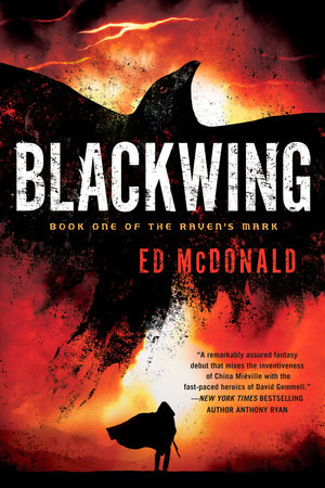 The cover of the book Blackwing