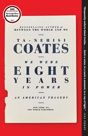 The cover of the book We Were Eight Years in Power