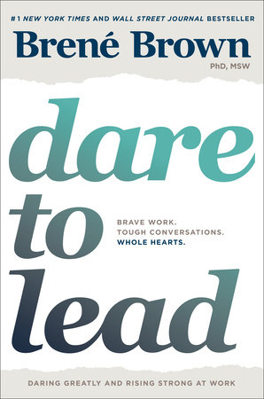 The cover of the book Dare to Lead