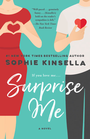 Surprise Me Book Cover Picture