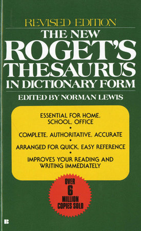 New Rogets Thesaurus