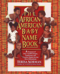 The African-American Baby Name Book