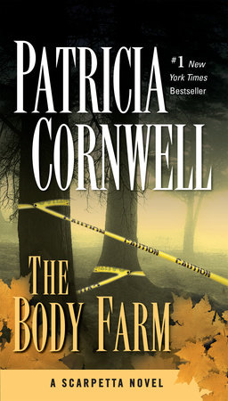 The cover of the book The Body Farm