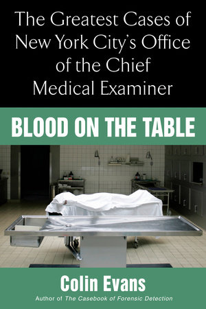 Blood On the Table by Colin Evans