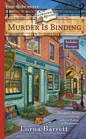 Murder Is Binding by Lorna Barrett