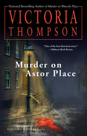 Murder on Astor Place Book Cover Picture