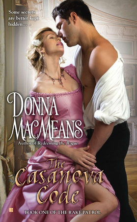 The Casanova Code by Donna MacMeans