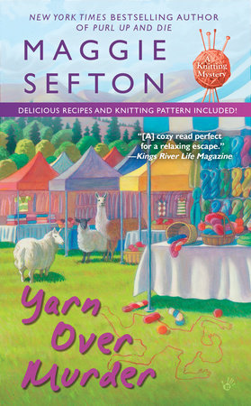 Yarn Over Murder by Maggie Sefton