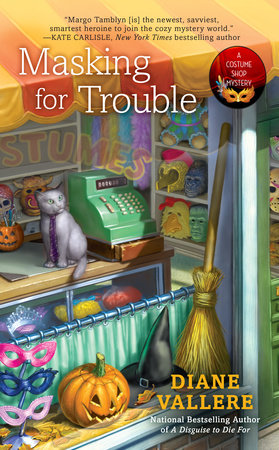 Masking for Trouble by Diane Vallere