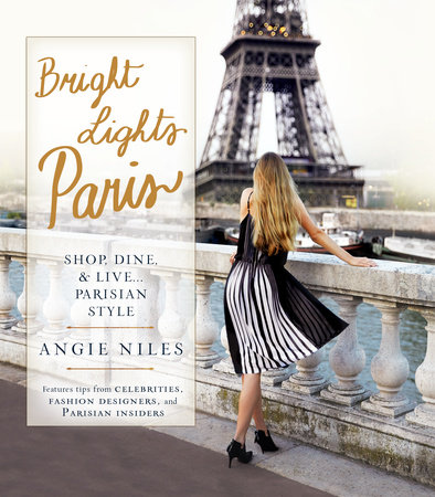 Bright Lights Paris Book Cover Picture