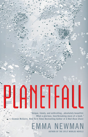 The cover of the book Planetfall