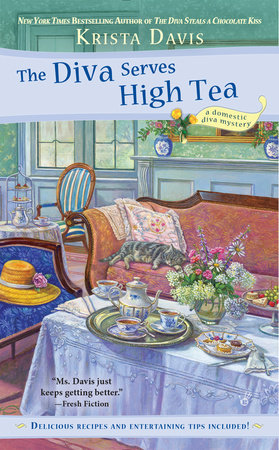 The Diva Serves High Tea by Krista Davis
