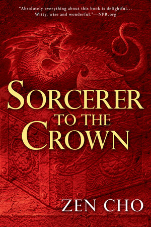 The cover of the book Sorcerer to the Crown